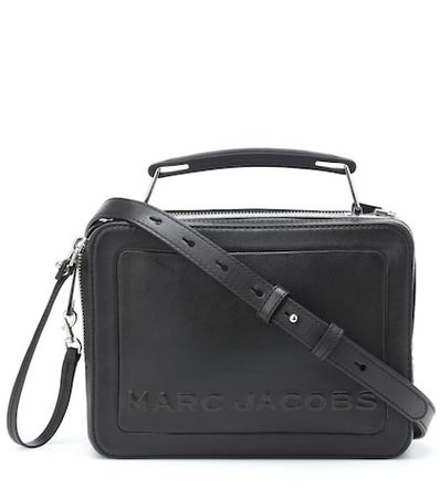 The Box leather shoulder bag