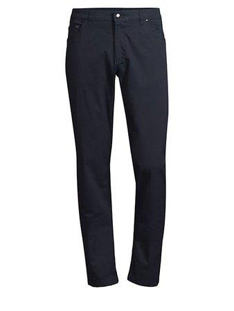 Corneliani Straight-Leg Pants | SaksFifthAvenue