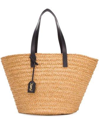 Saint Laurent Medium Panier Tote Bag Ss20 | Farfetch.com