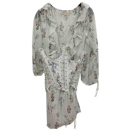 Mini dress For Love & Lemons White size M International in Cotton - 9744836