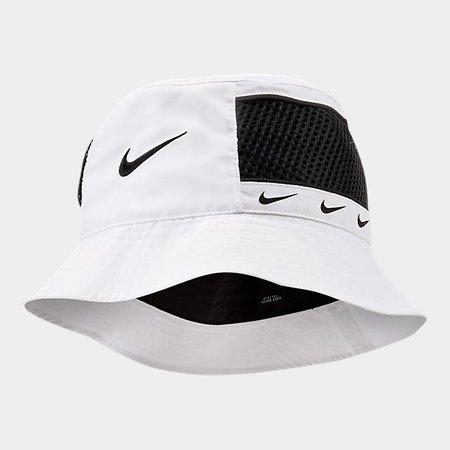 Nike Repeat Swoosh Bucket Hat   Finish Line