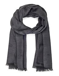 Scarf, grey, grey | MADELEINE Fashion