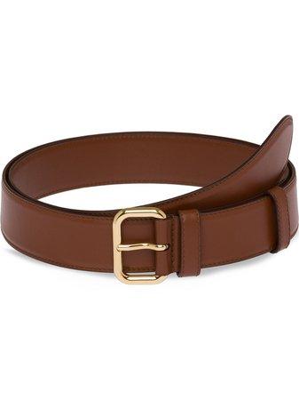 Miu Miu, classic leather belt