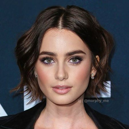 taylor hill and lily collins morphing