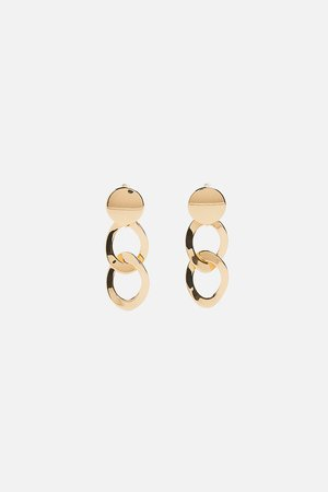 CHAIN EARRINGS - Jewellery-ACCESSORIES-WOMAN-SALE | ZARA New Zealand