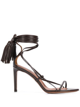 L'Autre, Chose strappy ankle-tie sandals