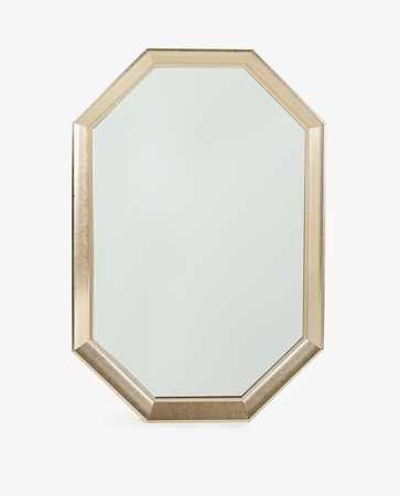 LARGE OCTAGONAL MATTE GOLDEN MIRROR - MIRRORS - INDOOR FURNITURE | Zara Home Sverige / Sweden