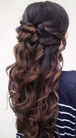 Brunette Hairstyle - Pinterest