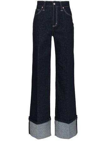 Chloé Calça Jeans Pantalona - Farfetch