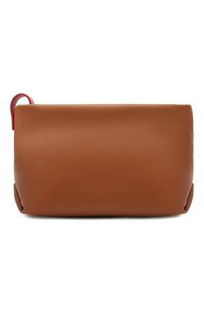 Женский коричневый клатч inside out small LORO PIANA — купить за 84800 руб. в интернет-магазине ЦУМ, арт. FAI6418