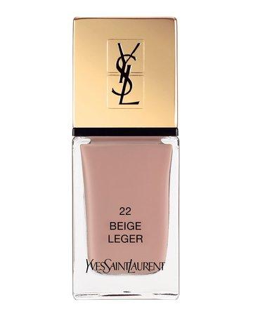 Yves Saint Laurent Beaute La Laque Couture, Beige Leger