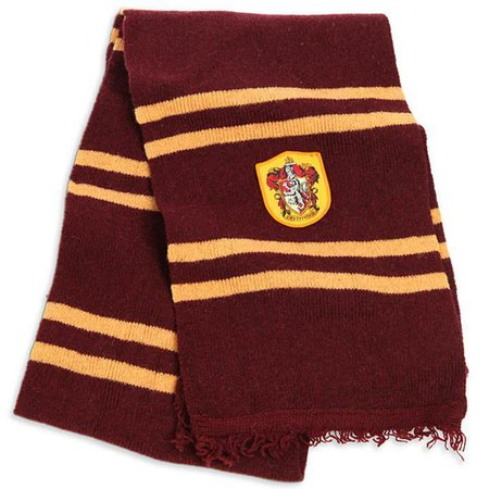 Harry Potter Scarf - Gryffindor House - Yellow Octopus