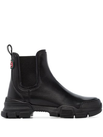 Gucci Chunky Ankle Boots - Farfetch