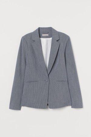 Saco entallado - Azul jaspeado - Ladies | H&M MX