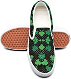 Amazon.com | St Patricks Day Shamrocks Sneaker Classic Shoes for Women Best Popular Comfortable and Lightweight Run Shoes | Fashion Sneakers