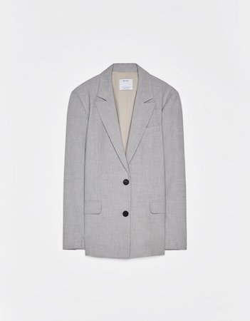 Пиджак с карманами с клапанами - Куртки - Bershka Russia