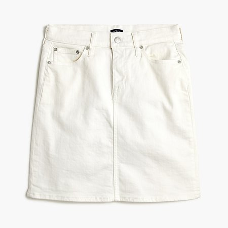 J.Crew Factory: Denim Mini Skirt For Women