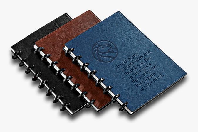 Clip Art Circa Notebooks Corporate Branding - Note Book Image Png Hd, Transparent Png , Transparent Png Image - PNGitem