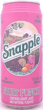 SNAPPLE-Fruit drink-458mL-United States