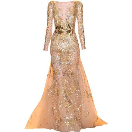Golden Couture Gown