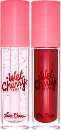 Lip Crime Chart Toppers Wet Cherry Gloss Set
