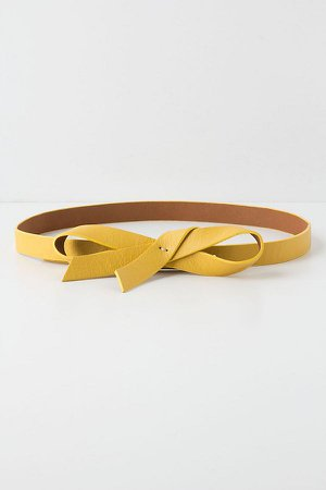 Slouchy Bow Belt   Anthropologie