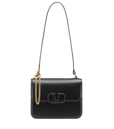 Valentino Garavani Vsling Leather Shoulder Bag - Valentino | Mytheresa