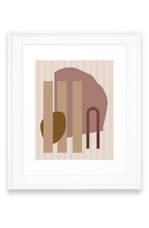 Deny Designs Shape Study 25 Art Print