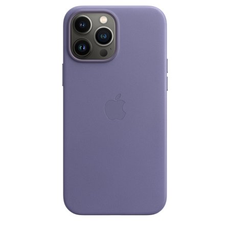 iPhone 13 Pro Max Leather Case with MagSafe - Wisteria - Apple