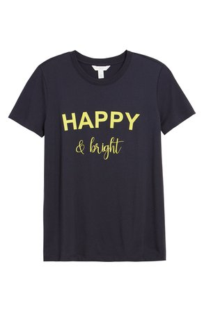 1901 Happy & Bright Graphic Tee | Nordstrom