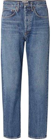 AGOLDE - '90s Mid-rise Straight-leg Jeans - Mid denim
