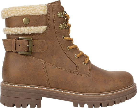 Cliffs by White Mountain Meldon Lace Up Ankle Boots