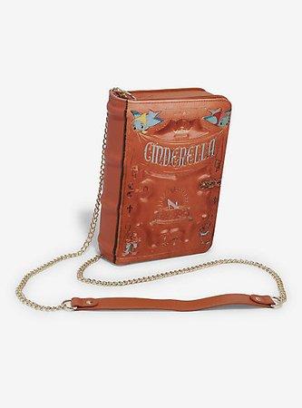 Loungefly Disney Cinderella Book Crossbody Bag