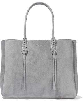 Small Shopper Fringed Suede Tote