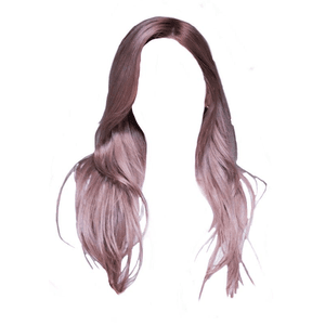Pink Purple Hair PNG