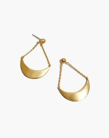 Acrobat Earrings gold