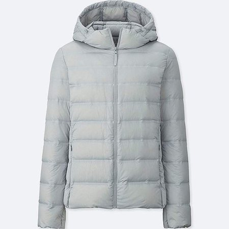 Women's Ultra Light Down Seamless Parka
