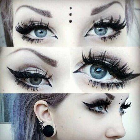 goth makeup - Google Search