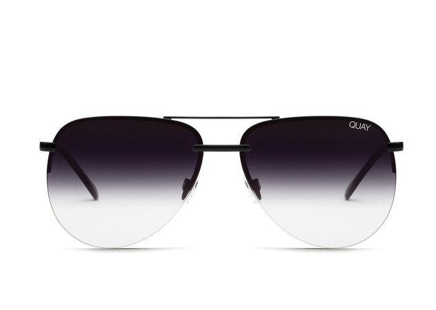 THE PLAYA Mirrored Aviator Sunglasses | Quay Australia