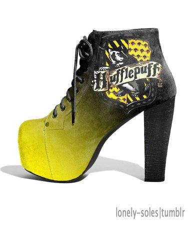 Harry Potter Heels/Hufflepuff