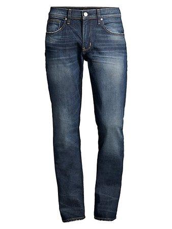 Hudson Blake Slim-Fit Straight Jeans | SaksFifthAvenue