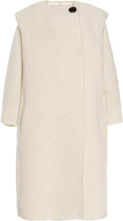 Isabel Marant Gelton Oversized Alpaca-Blend Coat