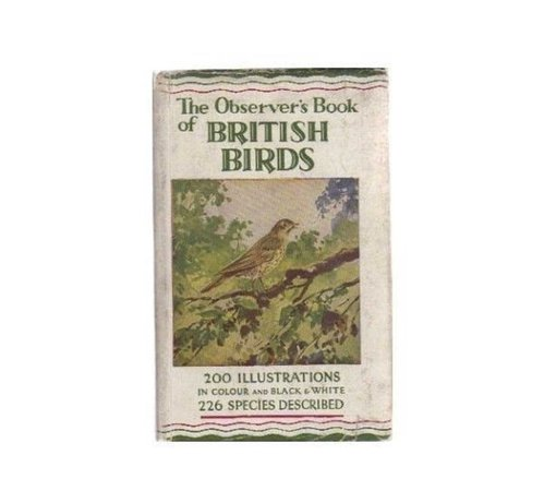British birds spotting book