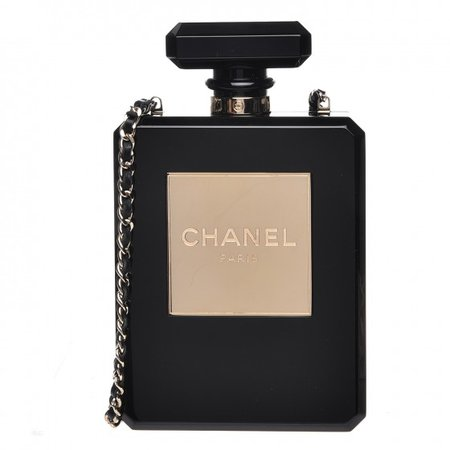 Chanel bottle clutch