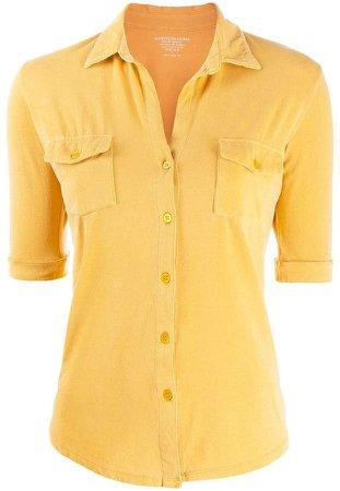slim-cut shirt