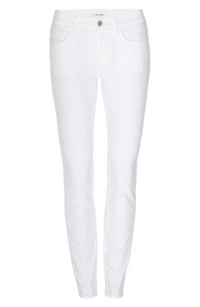 FRAME Le Low Ankle Skinny Jeans (Blanc) | Nordstrom