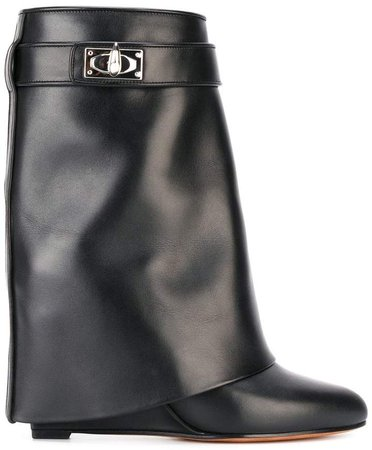 Shark Lock boots