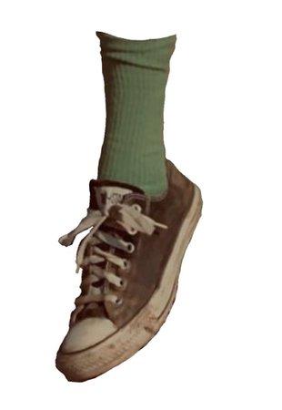 converse n socks