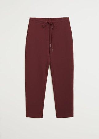 Straight suit trousers - Women | Mango United Kingdom