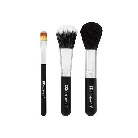 Essential Travel Size 3 Piece Makeup Brush Set | BH Cosmetics